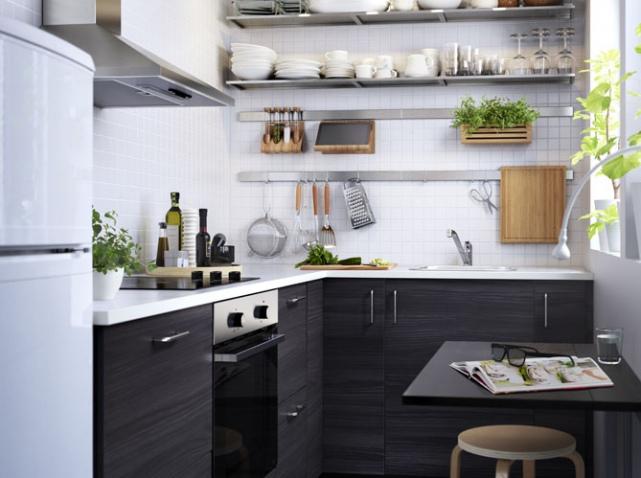 Encore plus de place dans la cuisine le blog d co for Cuisine dans petit espace