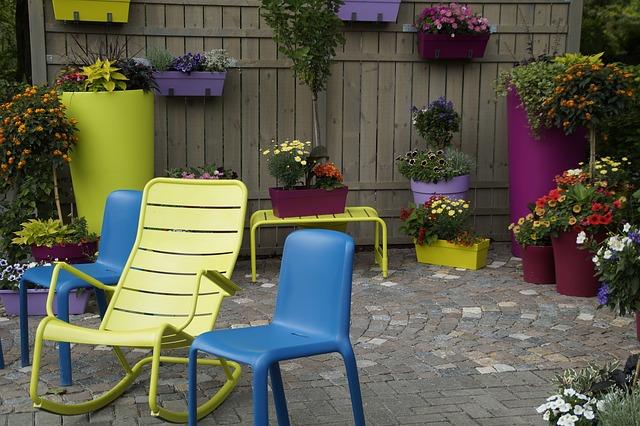 Fini les couleurs ternes du jardin