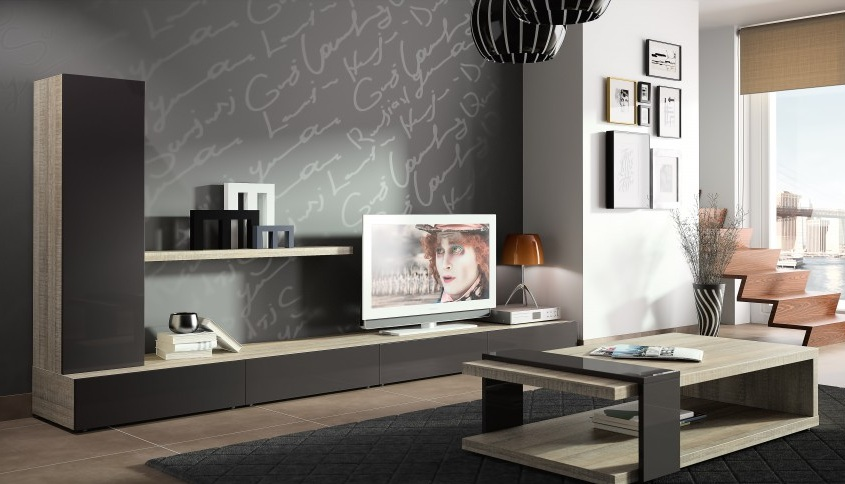 un meuble tv bien choisi et bien plac le blog d co destock meubles. Black Bedroom Furniture Sets. Home Design Ideas