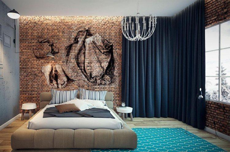 La d co l industriel le blog d co destock meubles - Peinture style industriel ...