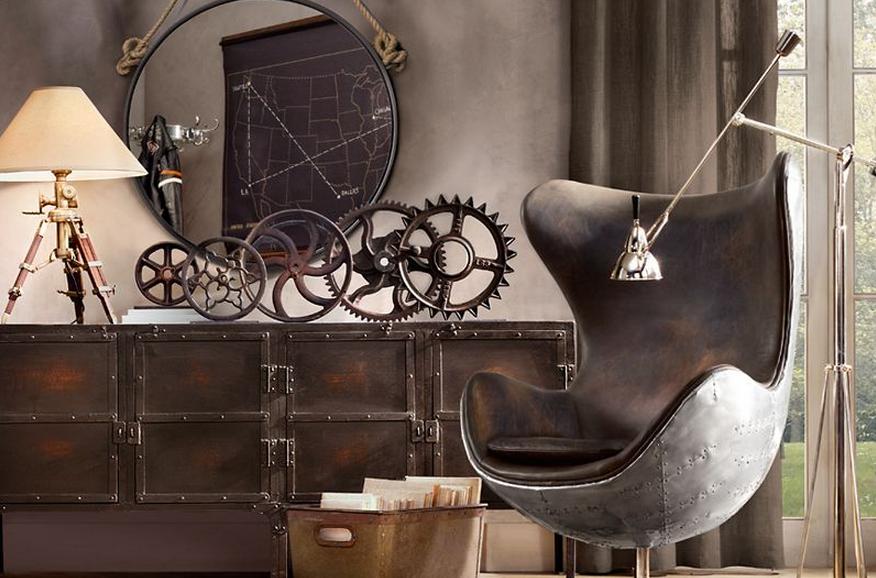 La d co l industriel le blog d co destock meubles for Decoration industrielle