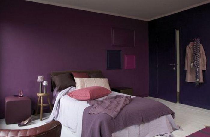 Noir Et Violet: Deco noir : Association couleur (blanc, or, violet) et ...
