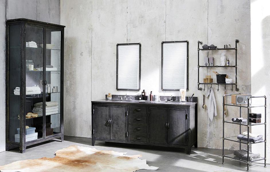 La vitrine dans la d co le blog d co destock meubles for Vitrine salle de bain