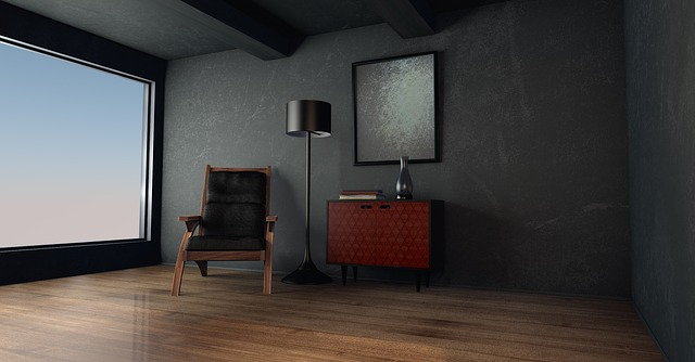 Des murs de couleur sombre à la maison