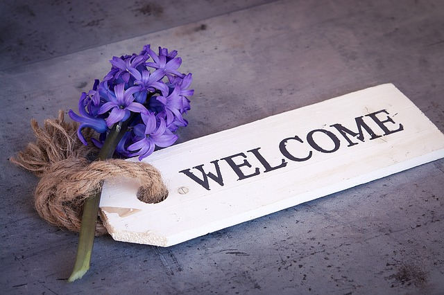 Merci et bienvenue