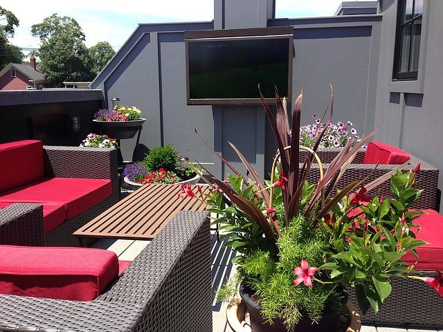 Un joli mobilier de jardin pour la terrasse
