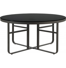Table_ronde_aluminium_gris_plateau_verre_tremp_noir_150