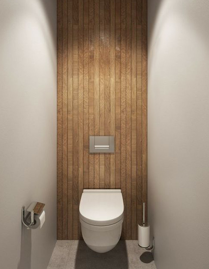 Deux idées déco pour des toilettes originales garantes de l\'harmonie ...