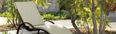 Bain de soleil de jardin