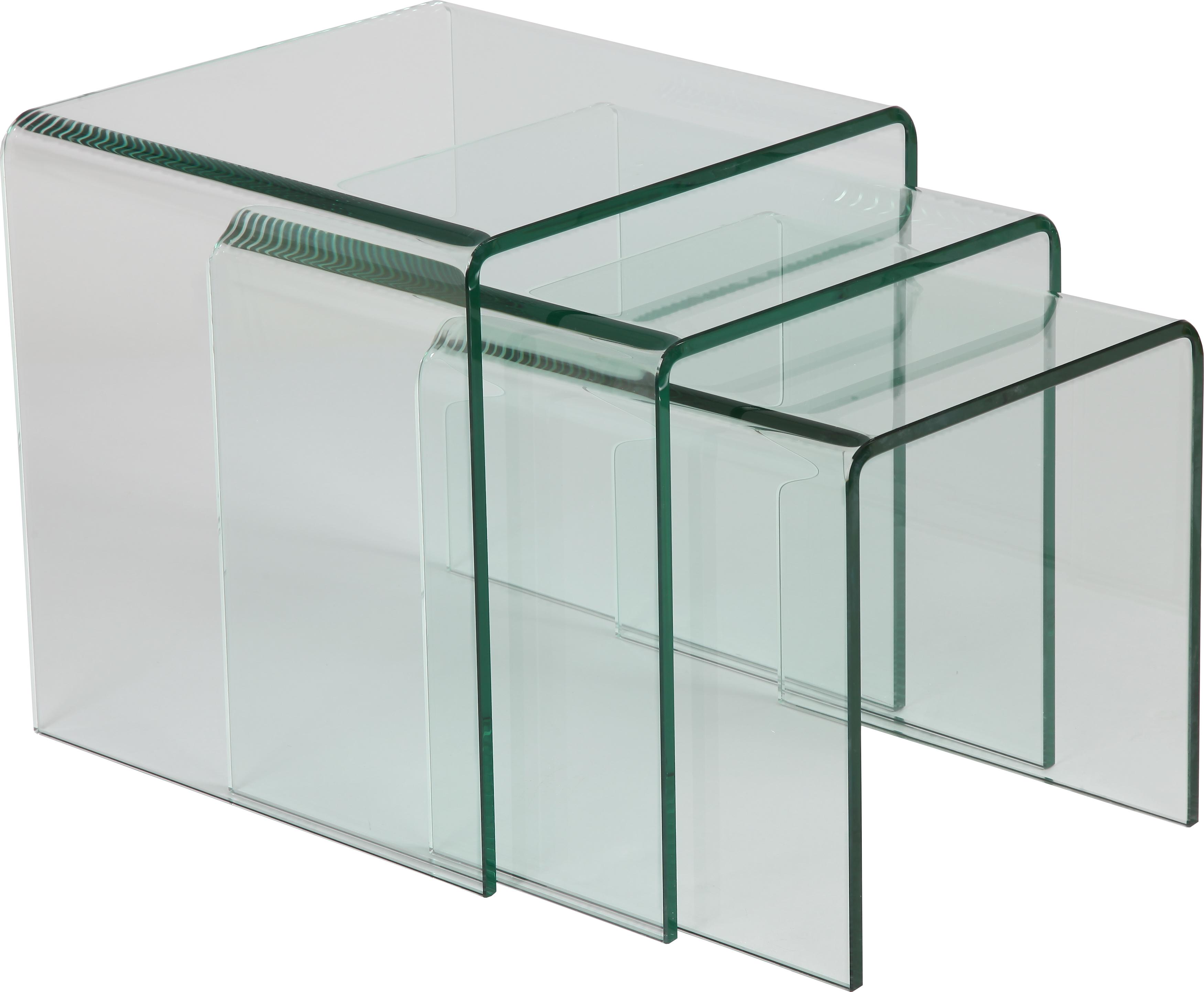 table gigogne en verre comparer les prix et les mod les. Black Bedroom Furniture Sets. Home Design Ideas