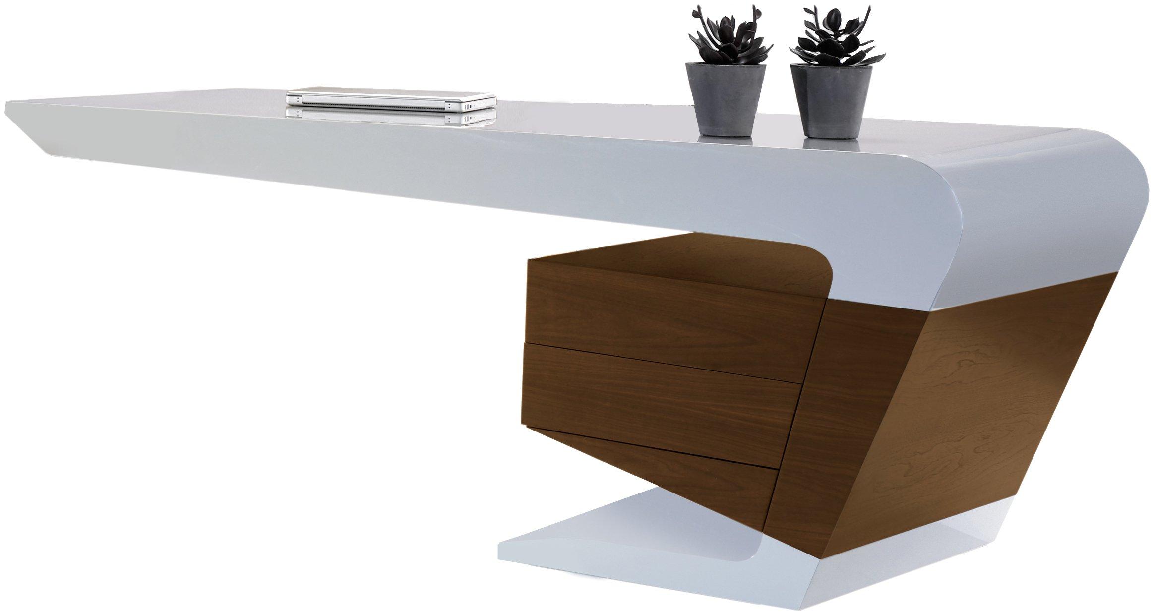 bureau blanc comparer les produits et les prix avec le guide kibodio. Black Bedroom Furniture Sets. Home Design Ideas