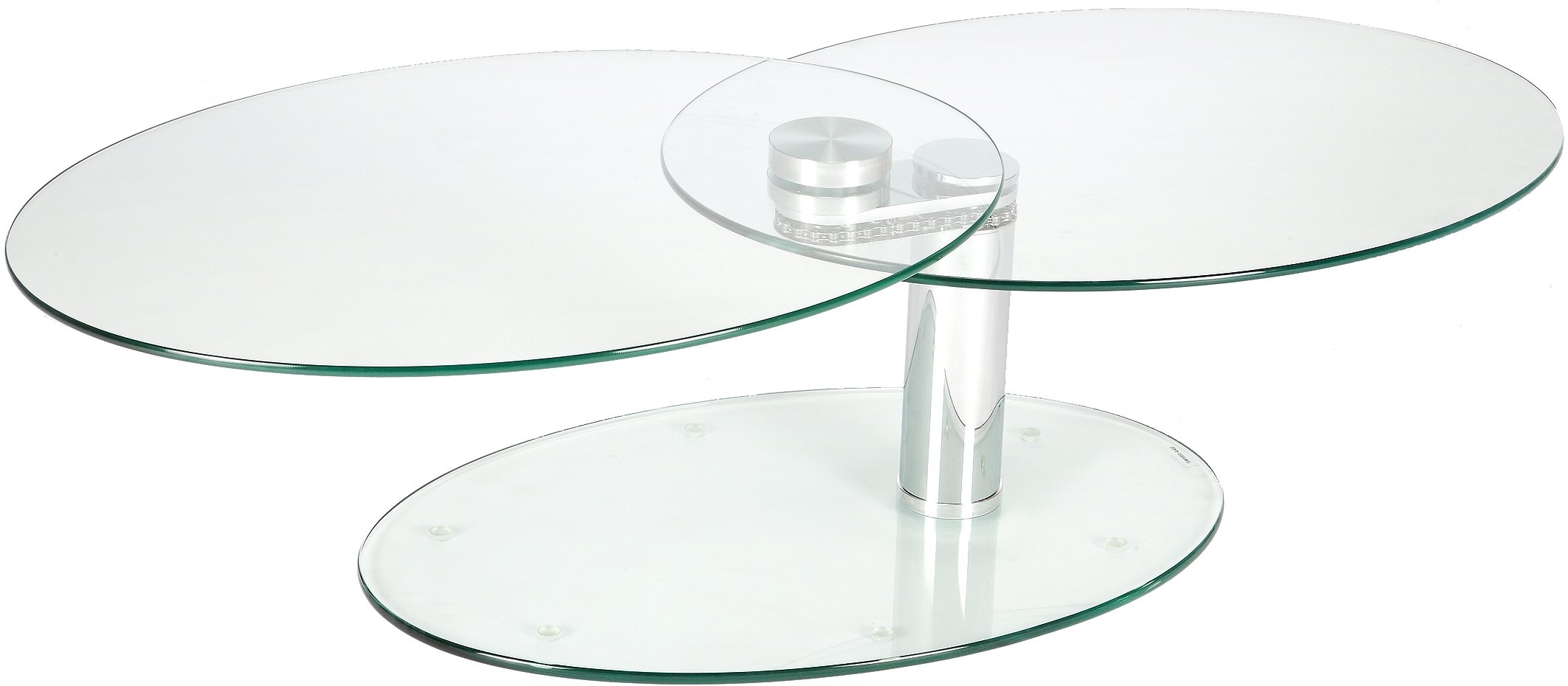 Table basse verre ovale articulee - Table basse verre ovale ...