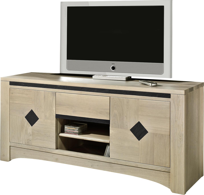 Meuble tv meuble bas tele chene clair meuble bas tele for Meuble tv 2 m