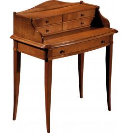 Bureau bonheur du jour merisier 5 tiroirs 1 tirette for Bureau bonheur du jour ancien