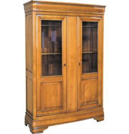 11502 - Bibliothèque galbée 2 portes