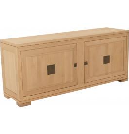11605 - Buffet 2 portes 4 tiroirs chêne