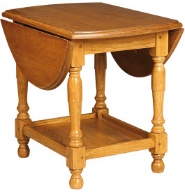 1292 - Table basse chêne 2 abattants