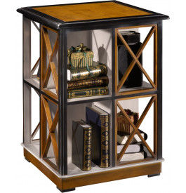 12935 - Table bibliothèque 8 rangements