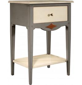 13037 - Table de téléphone 1 tiroir