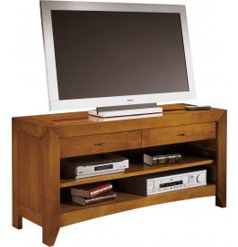 13061 - Meuble TV-Hifi 1 niche 2 tiroirs