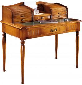 13088 - Table d'écriture 2 rideaux dessus cuir