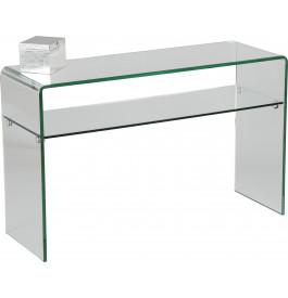1443 - Console verre courbé 1 rayon