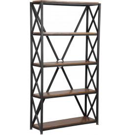 1473 - Etagère acier 5 niveaux croisillons