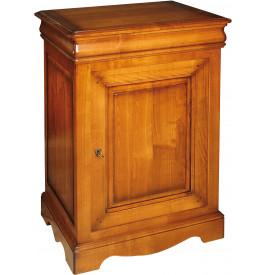 1508 - Confiturier merisier 1 tiroir 1 porte