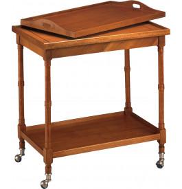 1622 - Table roulante avec plateau