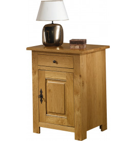 1760 - Confiturier chêne 1 porte 1 tiroir