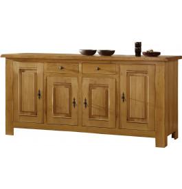 1770 - Buffet chêne 4 portes 2 tiroirs