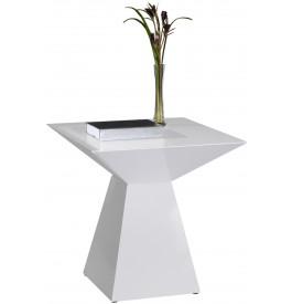 bout de canap design laqu blanc brillant - Bout De Canape Design