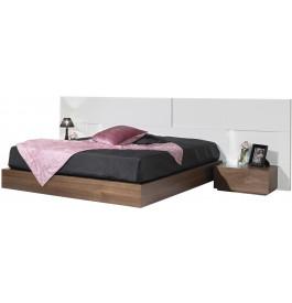grande t te de lit design laque pour lit 160 lumi res. Black Bedroom Furniture Sets. Home Design Ideas