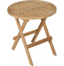 2828 - Table de pique-nique ronde teck Ø50