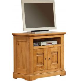 3716 - Meuble TV - Hifi LCD Plasma chêne 1 niche 2 portes