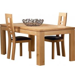 3739 - Table rectangulaire chêne clair L220
