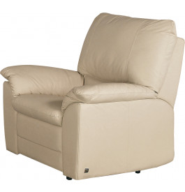3803 - Fauteuil cuir beige Roma
