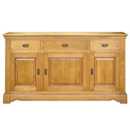 4073 - Buffet 3 portes 3 tiroirs