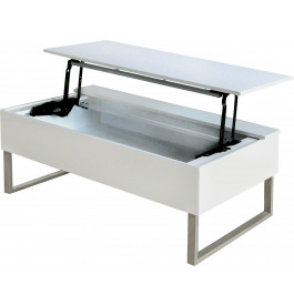4102 - Table basse plateau articulé relevable
