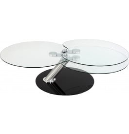 Table basse ronde en verre tremp pas cher table basse - Table basse ronde pas chere ...