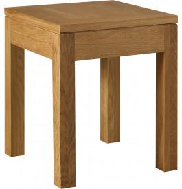 4897 - Bout de canapé chêne pieds carrés