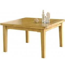 5086 - Table de campagne carrée chêne
