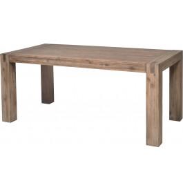 5829 - Table de séjour acacia massif gris L180