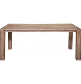 5879 - Table de séjour acacia massif blanchi L190