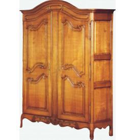 armoire 2 portes chapeau gendarme. Black Bedroom Furniture Sets. Home Design Ideas