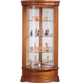 vitrine d 39 angle 1 porte 1 tiroir. Black Bedroom Furniture Sets. Home Design Ideas