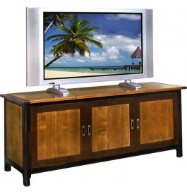 8367 - Meuble TV - Hifi LCD Plasma 3 portes