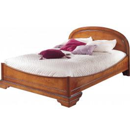 lit merisier 160 x 200. Black Bedroom Furniture Sets. Home Design Ideas