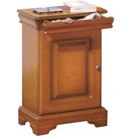 8993 - Chevet merisier 1 porte 1 tiroir