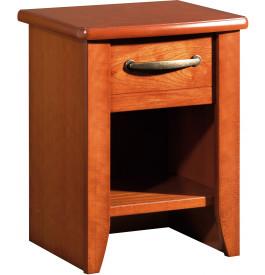 9149 - Chevet merisier 1 tiroir 1 niche